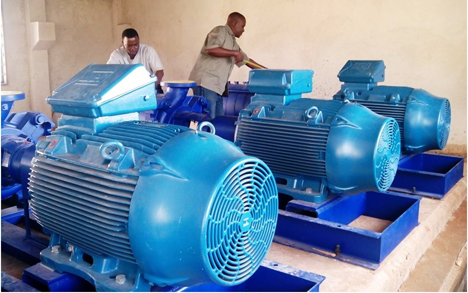 KSB Pumps at Makulu Pumping Station